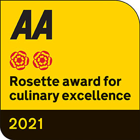 2 AA Rosettes, 4 star, Awards won by Orestone Manor